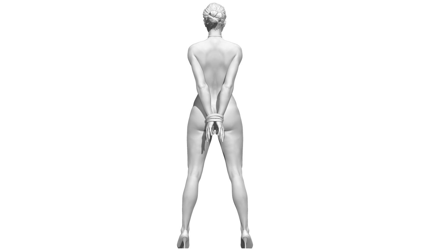 aaaaaaaa.png Télécharger fichier STL Little Caprice Pose 2 • Objet imprimable en 3D, BODY3D