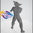 Goku_2.PNG Télécharger fichier STL gratuit Goku Fight • Plan pour impression 3D, BODY3D