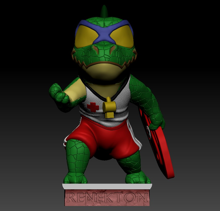 Annotation 2019-07-26 222416.jpg Download free STL file Renekton Chibi - League Of Legends • Model to 3D print, BODY3D