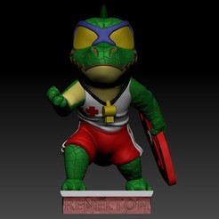 Télécharger plan imprimante 3D gatuit Renekton Chibi - League Of Legends, BODY3D