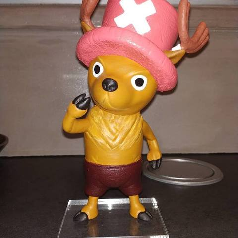 54462418_2339633376061498_735747783503380480_n.jpg Download free STL file Tony Tony Chopper • 3D printing object, BODY3D