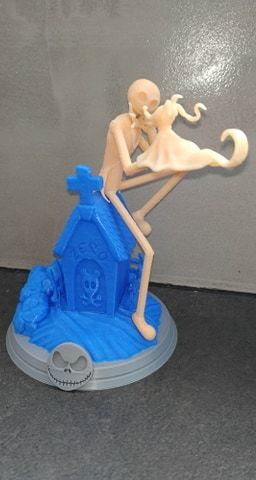 87161561_856433101472093_1103138813556817920_n.jpg Télécharger fichier STL Jack Skellington And Zero - The Nightmare Before Christmas • Design pour impression 3D, BODY3D