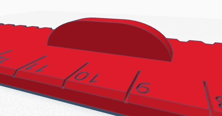 Règle 002.JPG Télécharger fichier STL gratuit Règle 20 cm • Design à imprimer en 3D, david75310
