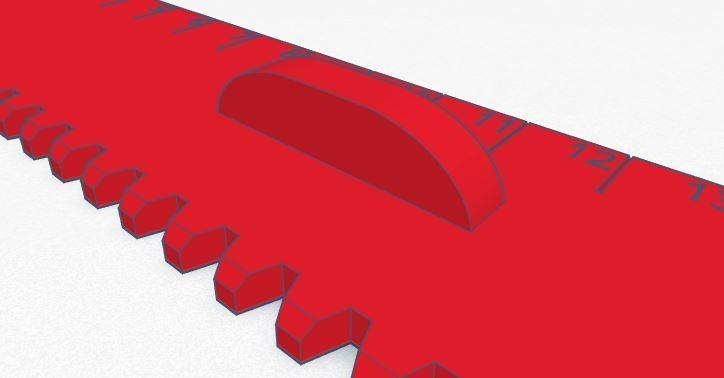 Règle 003.JPG Télécharger fichier STL gratuit Règle 20 cm • Design à imprimer en 3D, david75310