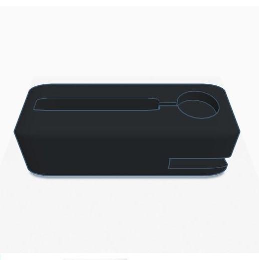 001.JPG Download STL file Station / iPhone Dock + Apple Watch • 3D printing object, david75310