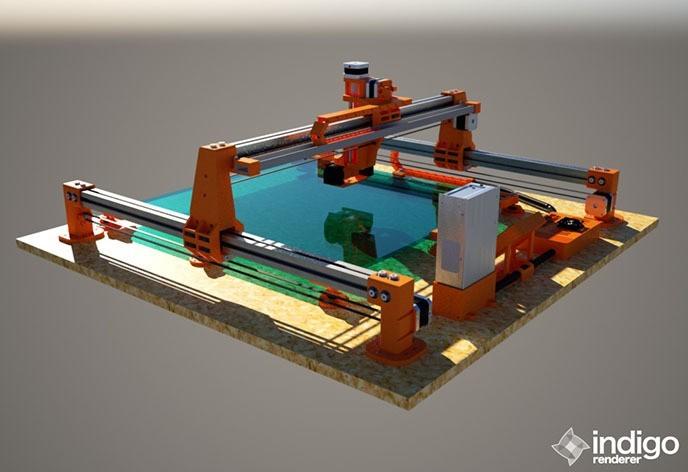 obr6.jpg Download STL file 3D printer Monster V1.0 600x600mm • 3D print template, Geek3Dprint