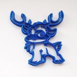 VYK-051-2.jpg Download STL file Cookie cutter Swen Frozen • 3D printing model, Geek3Dprint