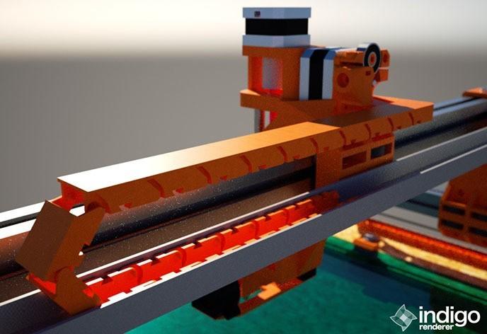 obr5.jpg Download STL file 3D printer Monster V1.0 600x600mm • 3D print template, Geek3Dprint