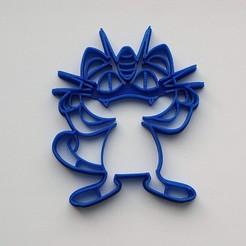 Télécharger objet 3D Coupe-biscuits Meoth Pokemon, Geek3Dprint