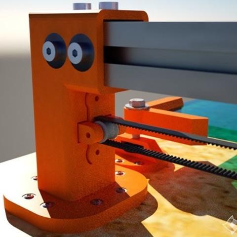 obr4.jpg Download STL file 3D printer Monster V1.0 600x600mm • 3D print template, Geek3Dprint
