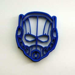 3D printer files Cookie cutter Ant-Man Marvel, Geek3Dprint