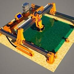 Archivos STL Impresora 3D Monster V1.0 600x600mm, Geek3Dprint