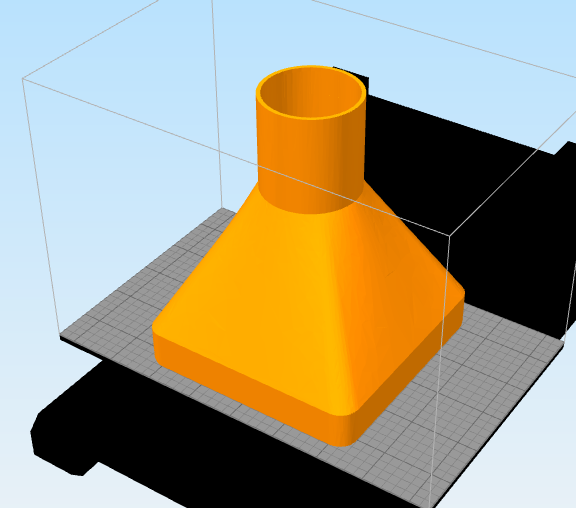 squr fun.png Download free STL file Dry Funnel • 3D printer template, Tomheadley