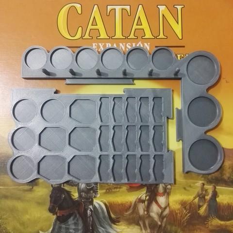 STL Catan & Cities & Gentlemen Pieces Holder, renatoalpire1