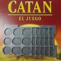 Diseños 3D Porta piezas de Catan, el juego, renatoalpire1