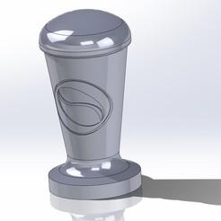 Diseños 3D Tamper para maquina de cafe, renatoalpire1