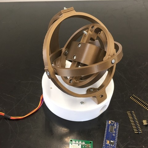 Download 3D printer model Gyro Winder / Watch Winder / Watch Winding Watch, ehjones