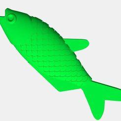MOJARRA2.JPG Download STL file Mojarra - Little Fish • 3D printable template, rodrigosferrer