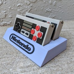 Download free 3D printing designs 8Bitdo NES30 Controller Holder, mark579