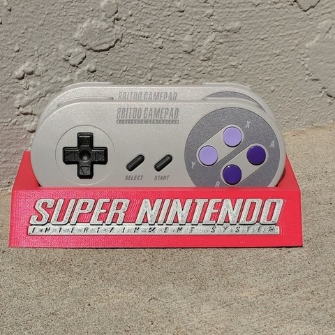 Download free 3D model 8Bitdo SNES30/SFC30 Controller Holder