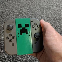 Free 3D printer files Nintendo Switch Joy-Con Basic Grip, mark579