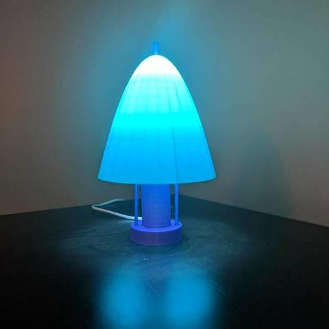 Download free 3D printing models Simple Lamp, mark579