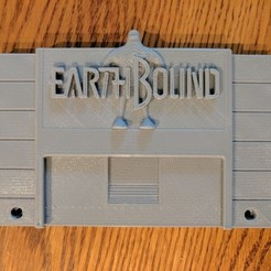 Free 3d print files Earthbound Cart, mark579