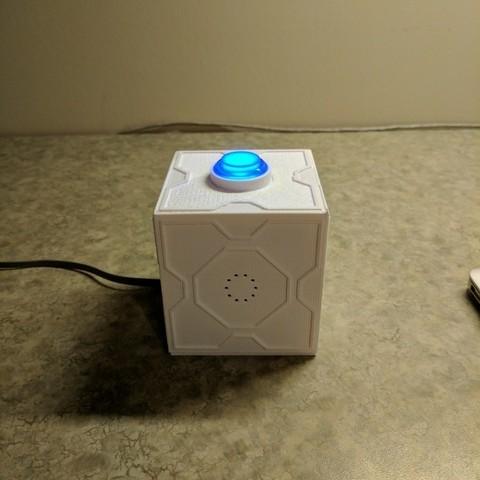 Télécharger plan imprimante 3D gatuit Boîte Meeseeks avec couvercle, mark579