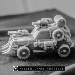 aaaaaaaaaaaa.jpg Download OBJ file renault 4 gaslands • Model to 3D print, millercamel