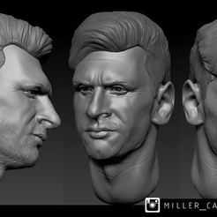 m2.jpg Download free OBJ file messi head • Object to 3D print, millercamel