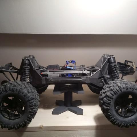 Imprimir en 3D gratis Soporte Traxxas X-maxx, GregCo