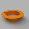 Download free 3D printer templates Collar Flange for Self-Watering planter, 3D-Designs