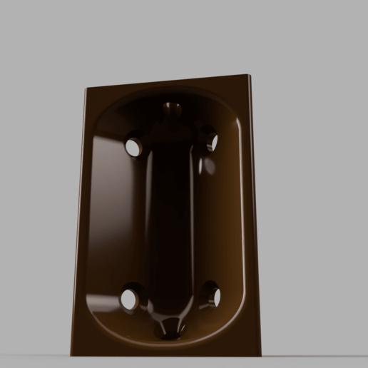 Télécharger fichier 3D gratuit Support d'angle de meuble optimisé FDM, 3D-Designs