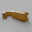 Download free 3D printing templates 8mm Bungee/Shock cord hook - FDM optimised, 3D-Designs