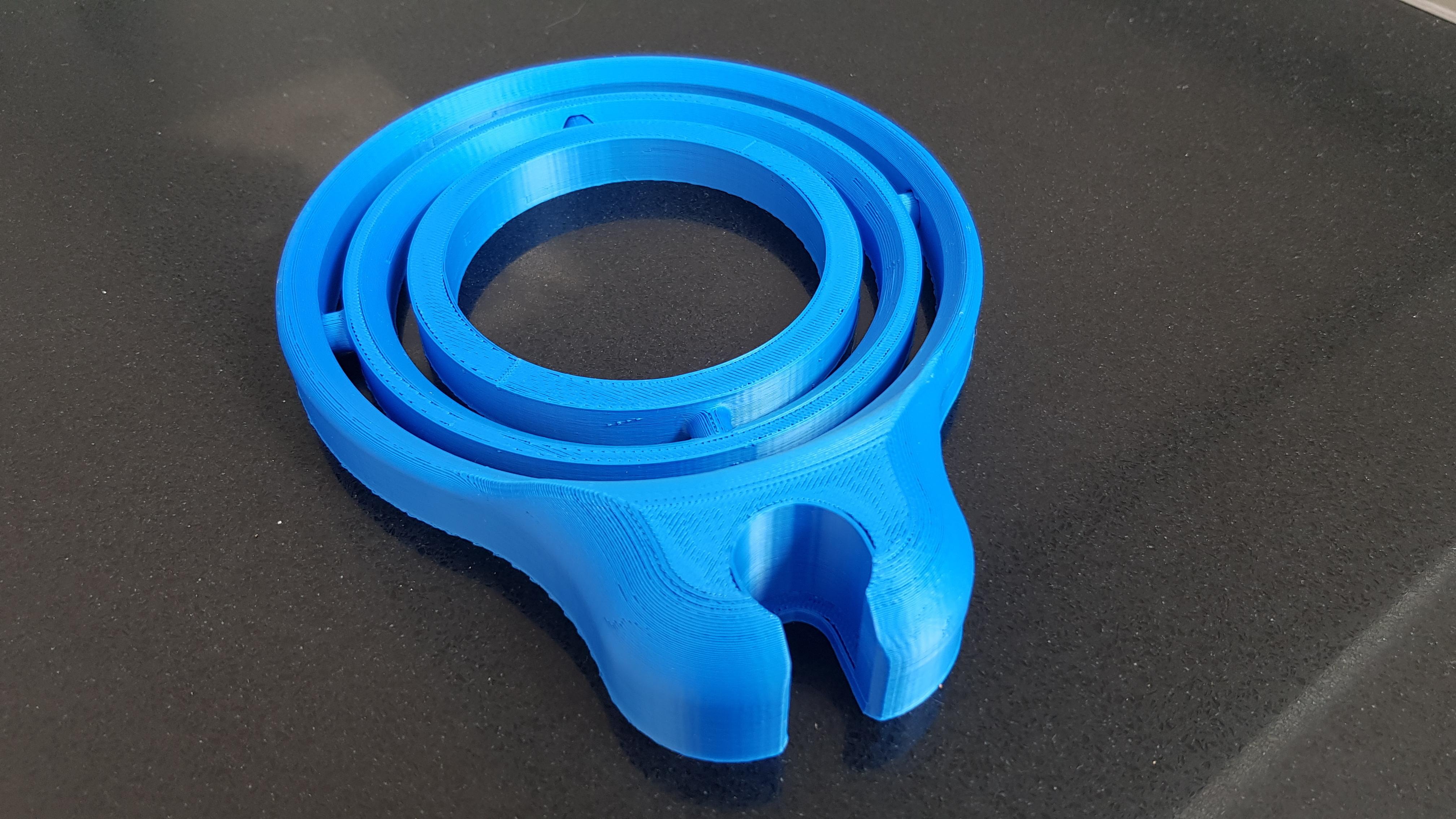 20200412_142619.jpg Download STL file Self-righting gimballed drinks holder - 2020 Pint Glass Version • 3D printable template, 3D-Designs