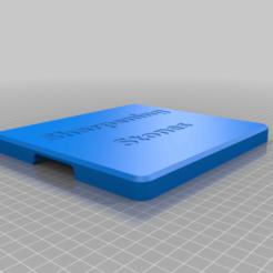 Télécharger fichier STL gratuit Rack de stockage à couvercle pour jeu de pierres à aiguiser • Objet à imprimer en 3D, 3D-Designs