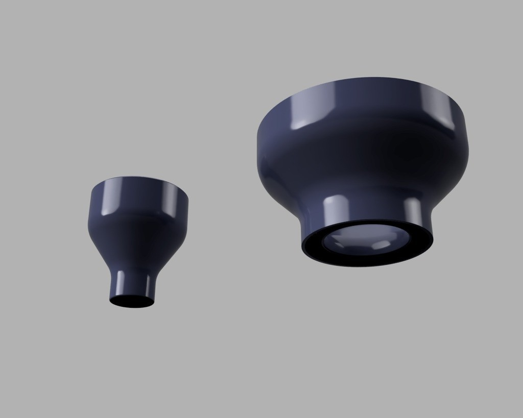 54420f6062f8437714fc0c3ac386c693_display_large.jpg Download free STL file Resin filter funnel using strainer • 3D printing object, 3D-Designs