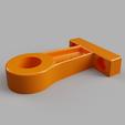 Télécharger STL gratuit Support de support de tuyau de 15mm (1/2 pouce) - déport de 50mm, 3D-Designs