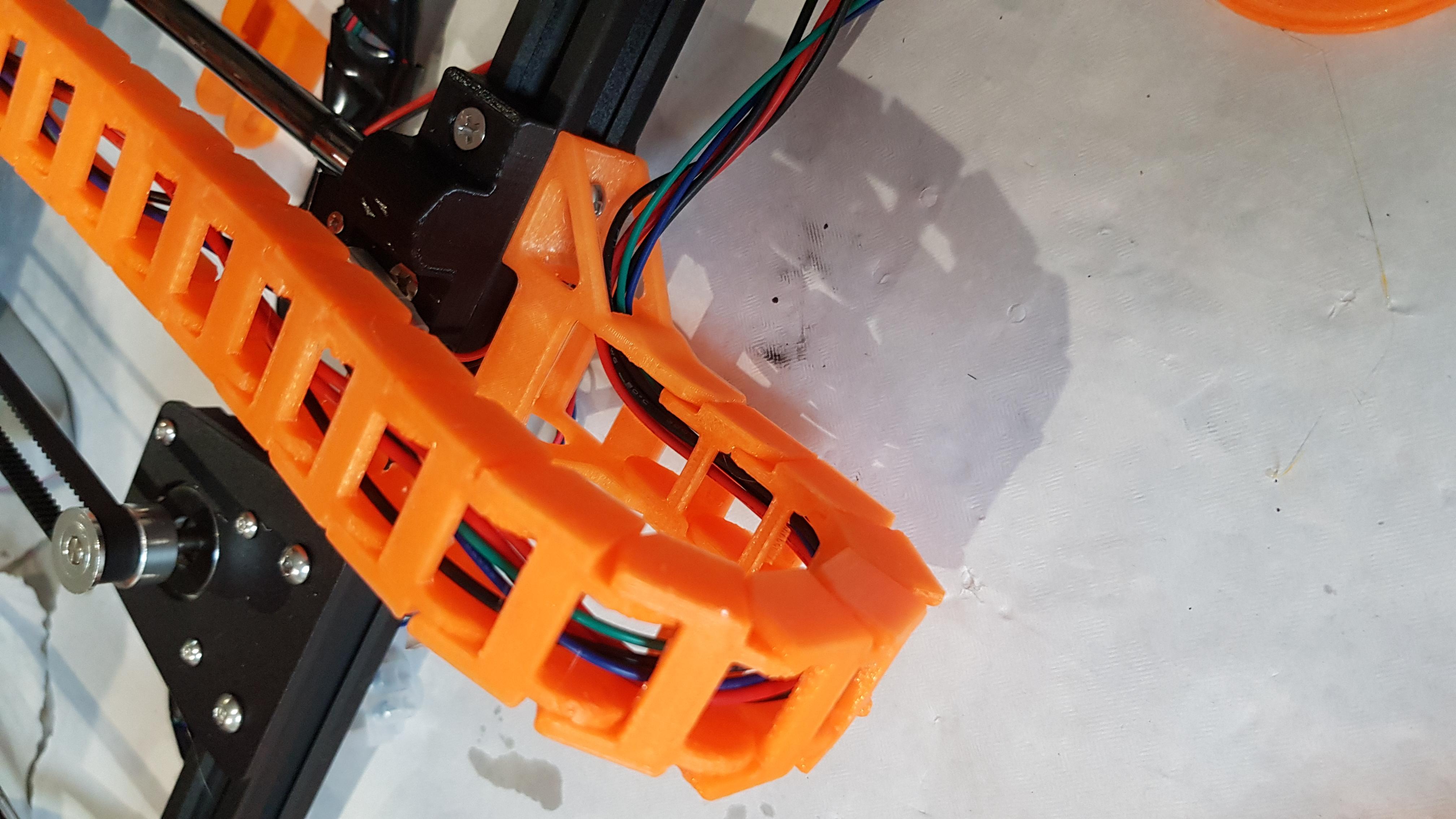 20191103_123044.jpg Télécharger fichier STL gratuit Anet A8 Plus Y chariot en Y (HBP) montage en chaîne à câble • Plan à imprimer en 3D, 3D-Designs