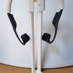 Headphone_stand.PNG Download free STL file Headphone adapter for my toy stand • 3D printable design, 3D-Designs