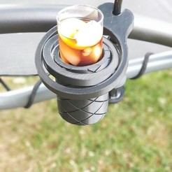 Free STL file Self-righting Gimballed drinks holder, 3D-Designs