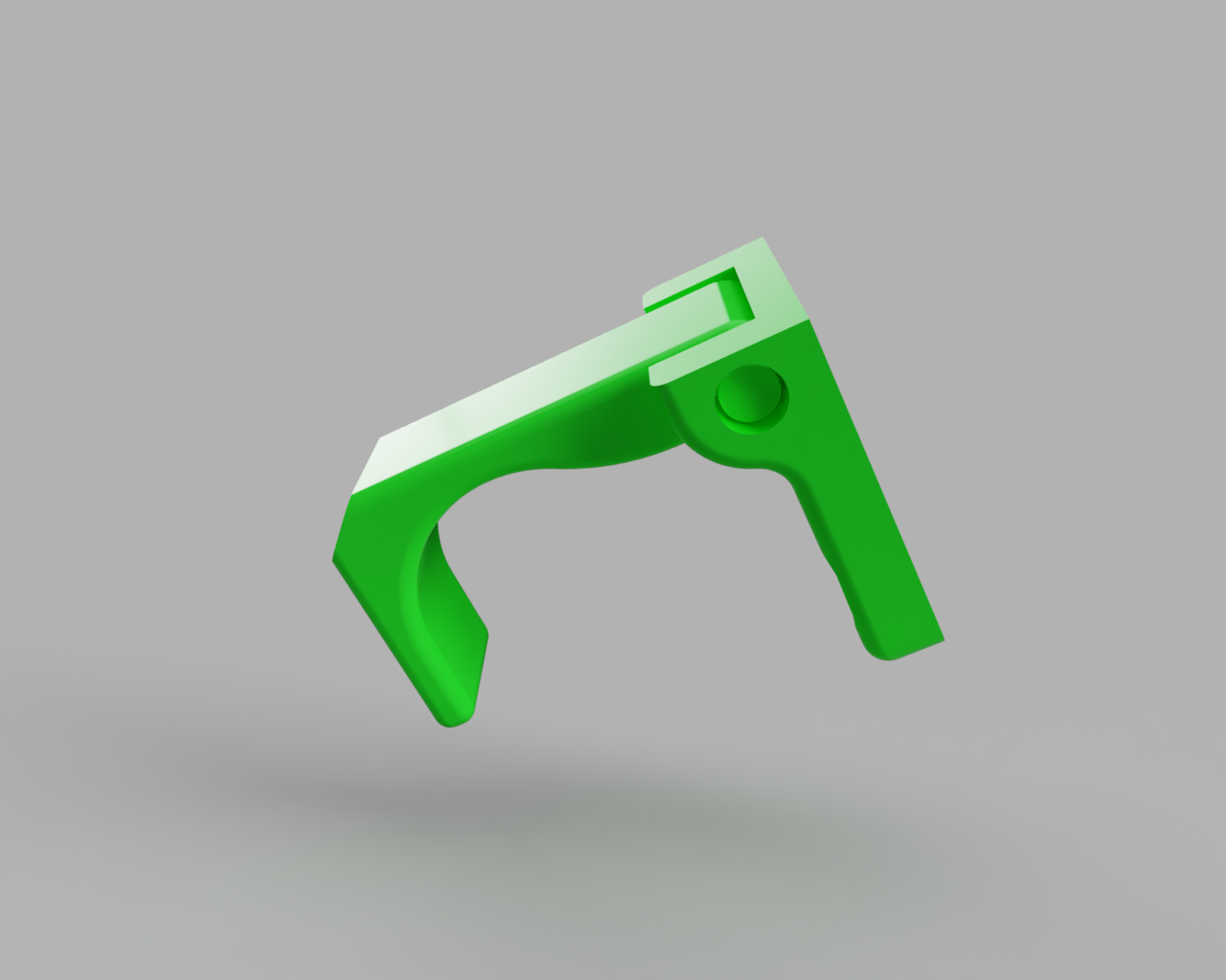 Chicken_Coop_Latch_2019-Sep-16_09-01-44AM-000_CustomizedView6594527347.png Download free STL file Simple hinged print-in-place door/gate retainer • 3D printer design, 3D-Designs