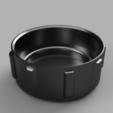 Download free STL file Lens Cap for GoPro Hero+ • 3D printer model, 3D-Designs