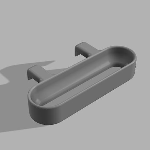 Towel Holder - Front.png Télécharger fichier STL gratuit Porte-serviettes de cuisine à suspendre • Plan imprimable en 3D, 3D-Designs