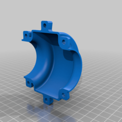 Left.png Download free STL file Pipe support for sink waste disposal • 3D print template, 3D-Designs