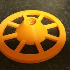 Free 3d print files Additional wheel/cone for Creator Pro Universal Spool Holder, 3D-Designs