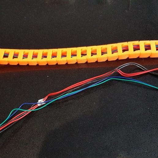 20191103_122348.jpg Télécharger fichier STL gratuit Anet A8 Plus Y chariot en Y (HBP) montage en chaîne à câble • Plan à imprimer en 3D, 3D-Designs