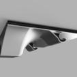 Download free 3D printer model USB Power socket mini-shelf, 3D-Designs