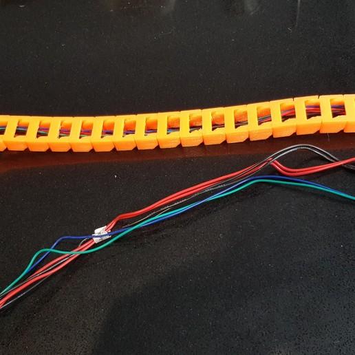 20191103_122350.jpg Télécharger fichier STL gratuit Anet A8 Plus Y chariot en Y (HBP) montage en chaîne à câble • Plan à imprimer en 3D, 3D-Designs