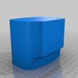 Download free 3D printing models Wall mount for Bioguard Hand Sanitiser Gel, 3D-Designs